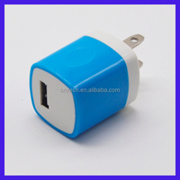 Quick charging plug adapter 5v usb power adapter wall charger