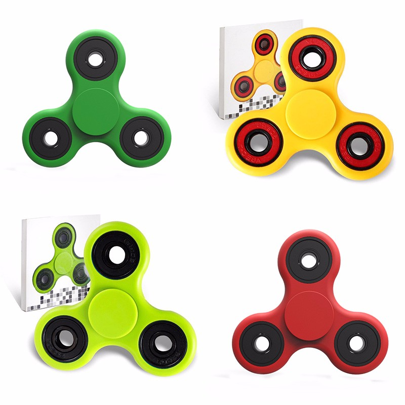 2017 New arrival EDC Fidget spinner fidget toy tri hand Spinner cheapest is fidget toy