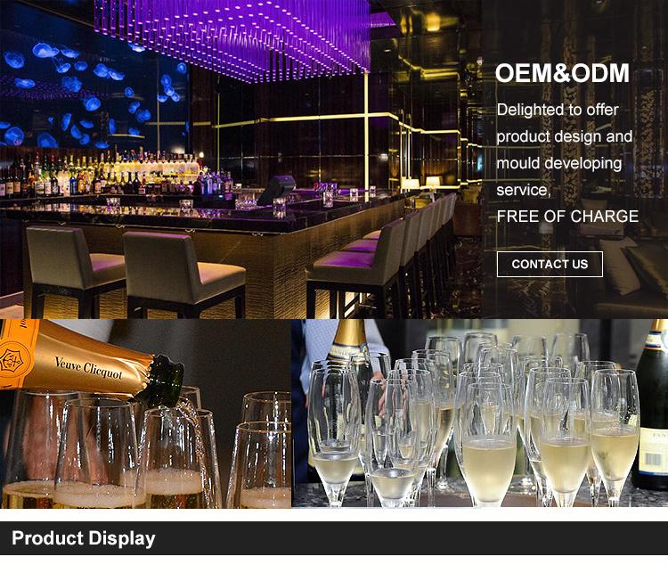 Commercio all'ingrosso Elegante In Policarbonato Acrilico di Nozze di Plastica Bicchieri di Cristallo Tazza Di Champagne Coppe Calice Bicchiere di Vino di Vetro