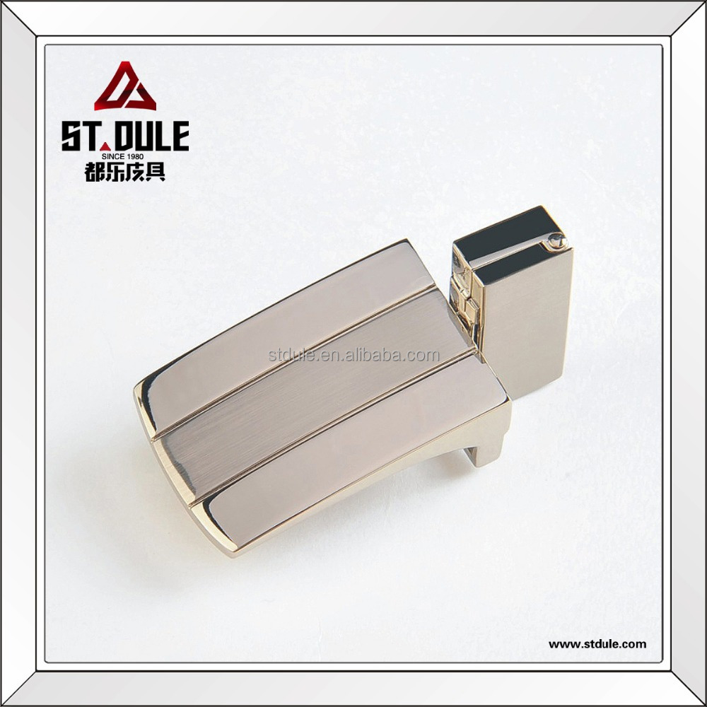 High quality 30mm classic flat reversible clip belt buckle manufacturer