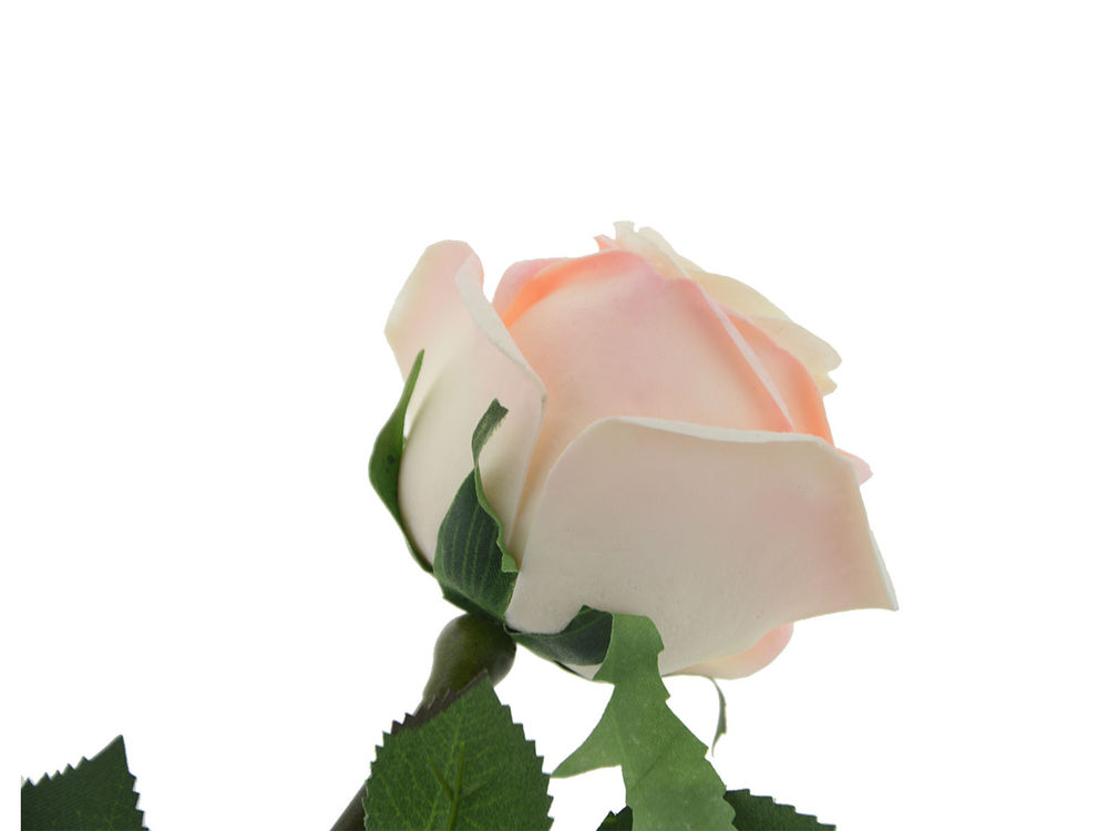 Roze Roos Decoratieve Bloem Licht Geleid Bloem Pu Kunstbloemen Met ...