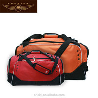 red polyester China wholesale model travel bag 2014