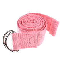 Пояс для йоги Slackline растягивающийся ремешок Коврик для йоги тренировочные инструменты Flex Bar Pull Up Assist Аксессуары для йоги черный и розовый(China)
