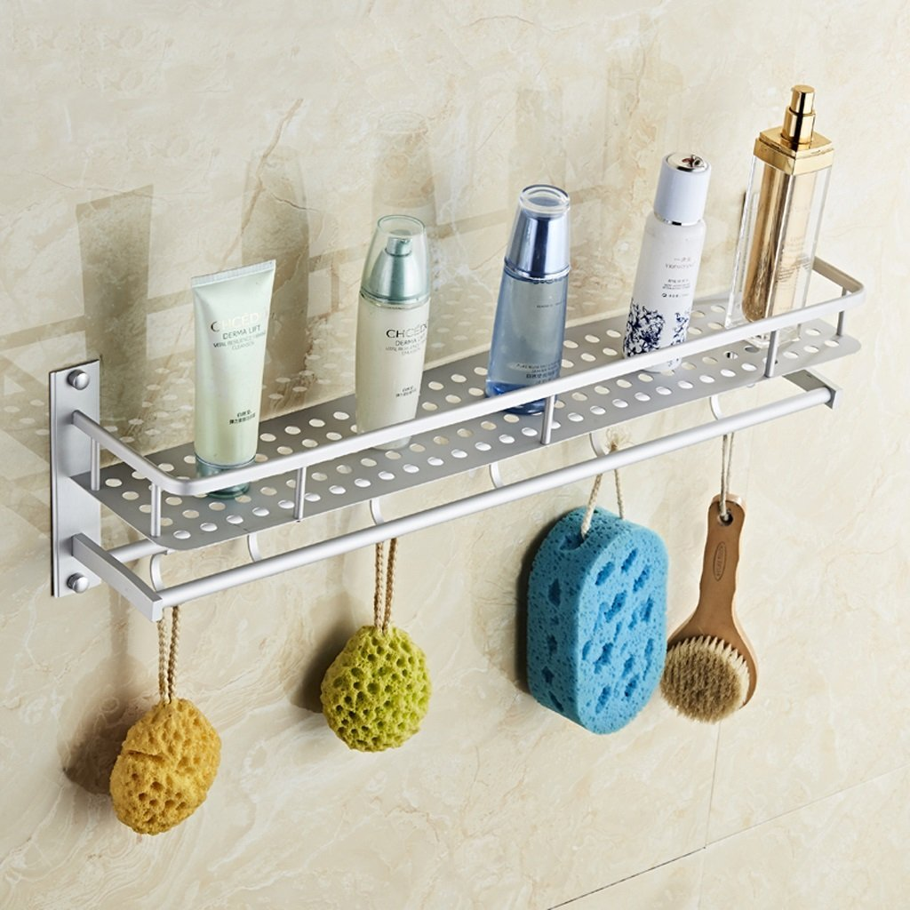 Bathroom rack Bathroom Shelf Wall Toilet Bathroom Toilet Toilet Storage Shelf Utility Shelves A+ ( Size : 50cm )