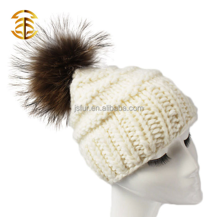 reino unido estilo de lana de colores del sombrero del ganchillo con ...