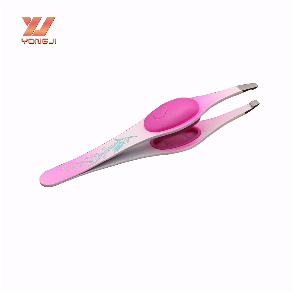 High Quality Stainless Steel Electric Eyebrow Tweezer From China Supplier