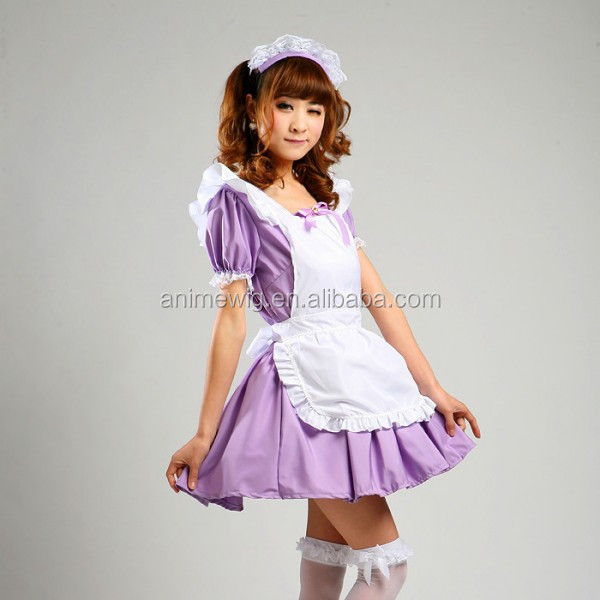 Waitress Halloween Costume 2016 new axis powers hetalia white russia cosplay costume waitress uniform halloween costume for women High Quality Uniform Clothes Sexy Dress Purple Lolita Maid Dress Waitress Costumes Anime Cosplay Halloween Costume