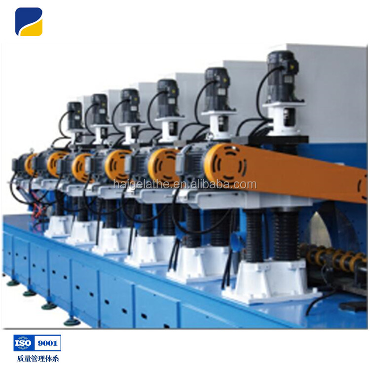 chrome bars piston rods precise polishing machine