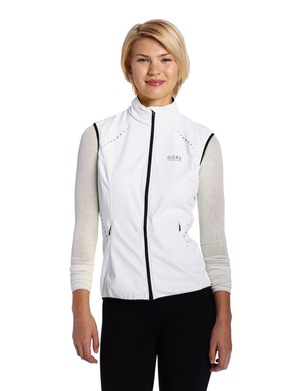 GORE RUNNING WEAR Women's Mythos Windstopper Soft Shell Light Vest