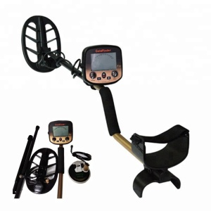 Deep earth gold finder long range metal detector with two coils