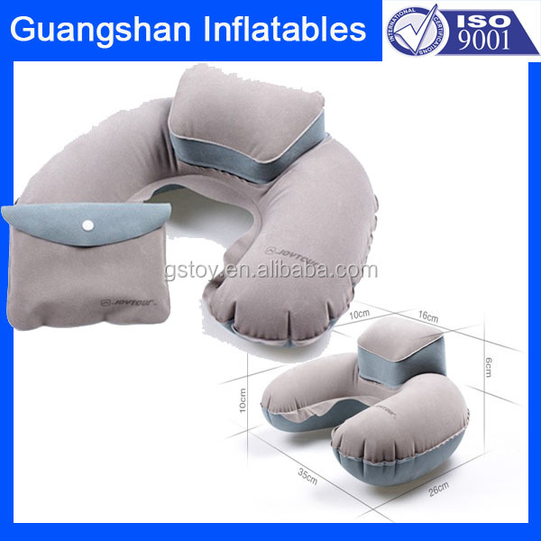travel car plane inflatable neck pillow