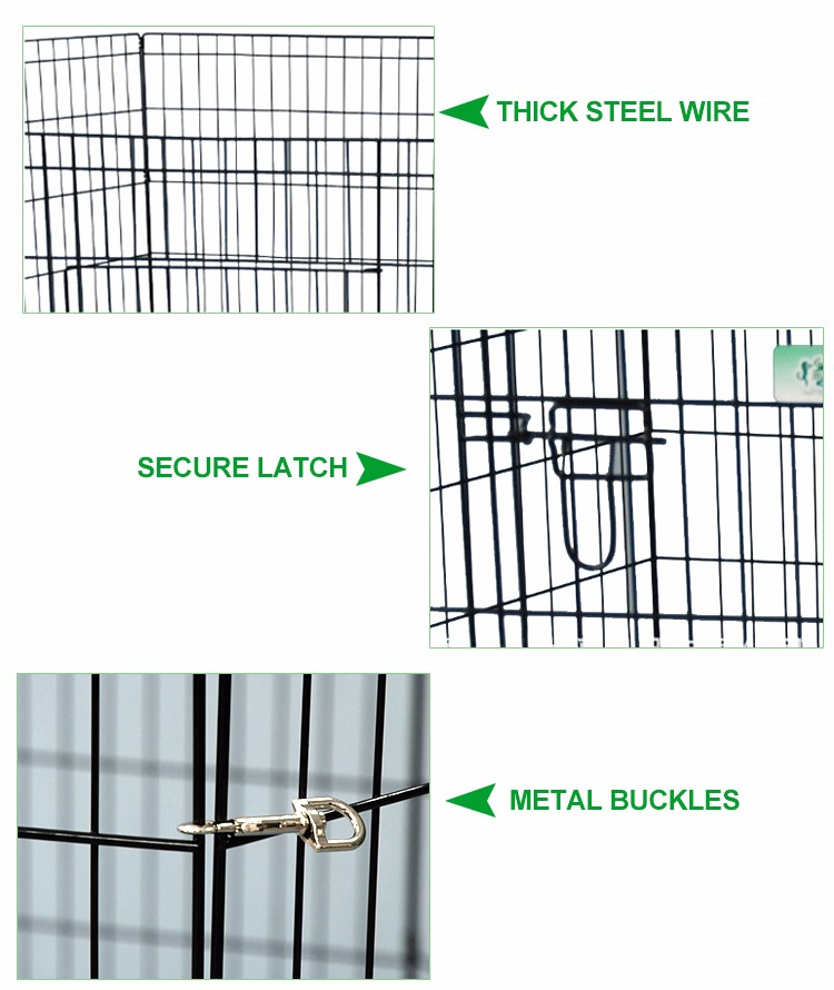 new design outside portable zinc steel fence