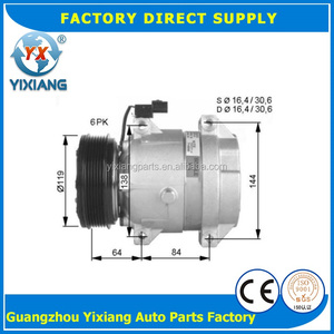 Factory Direct 6611304415 714956 6611304915 6PK AC V5 Compressor For Daewoo Ssangyong Pexton