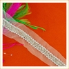 2016 New arrival pearl beads trimming/beaded trimmings for wedding dresss / casual garments decoration