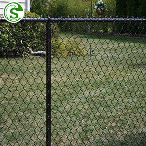 Manufactory chain link mesh fence iron and steel american wire fencing