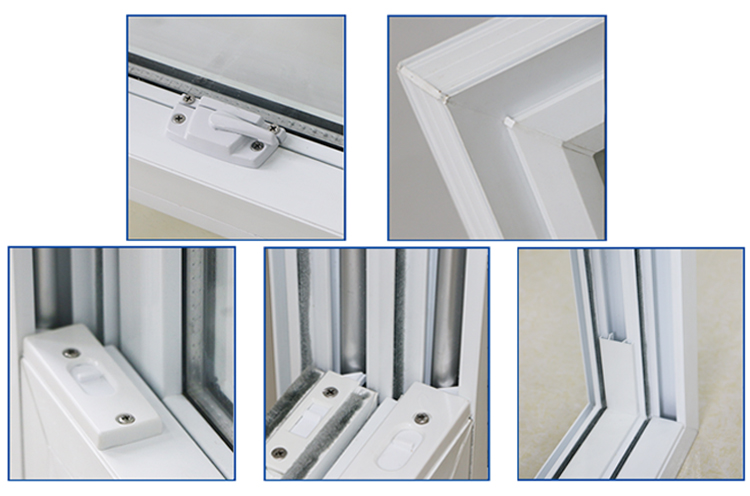 Wholesale products white pvc double hung window buy for Buy double hung windows online