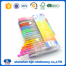 2017 high quality fancy 72 color gel pens set as birthday gift