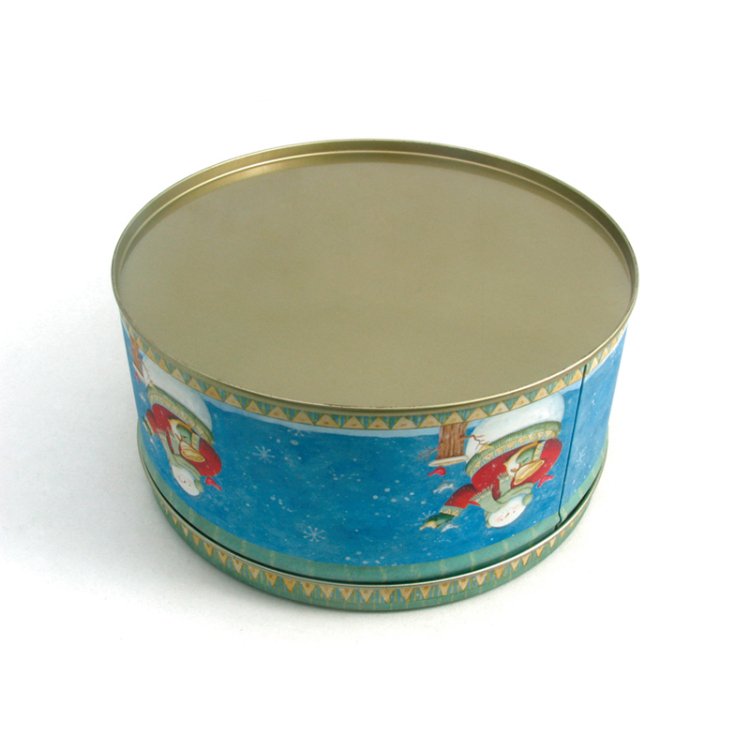 Decorative Christmas Cake Tin Box Buy Cake Tin Box