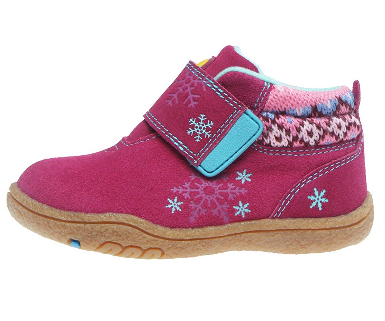iDuoDuo Kids Cute Snowflake Fashion Boots Children Hiking Boots Warm Winter Boots (Toddler/Little Kid)