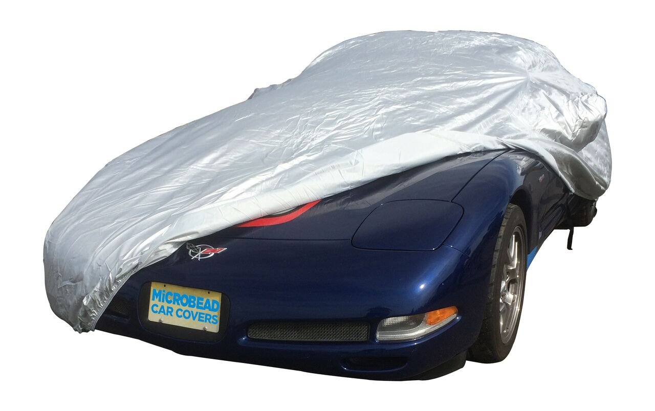 1997 - 2004 Chevrolet Corvette C5 Select-fit Microbead Car Cover Kit (Convertible Coupe and Z06)