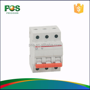 3 Pole MCB Electrical Circuit Breaker Parts mcb mccb rccb rcbo elcb