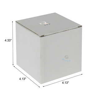 white manufacturers square paper boxes 4x4x4
