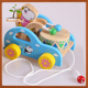 Little Bear Drums Drag The Toy Baby Toddler Pull Trailer Children Kids Small Best Wholesale Toy Cars