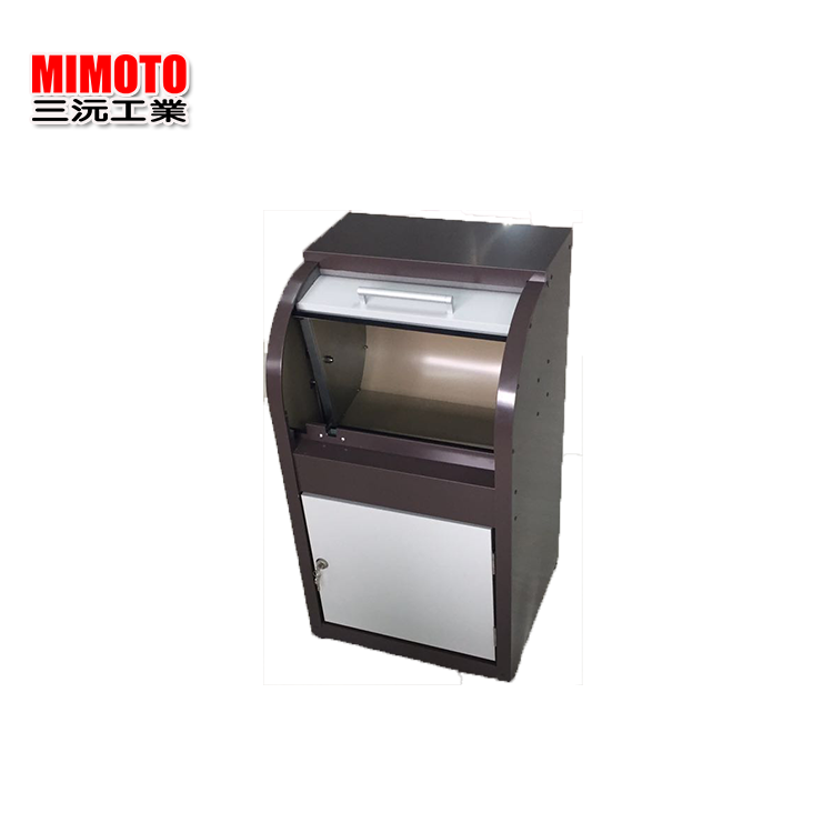 Casting Craftsman customized metal parcel package design metal mailbox/postbox