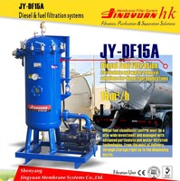 JY backwash surge tank Oil Filter Machine / Oil Cleaner with polymeric membrane