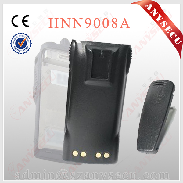 vhf handheld 2 way radio battery HNN9008 for GP328 GP338 radio rechargerable battery