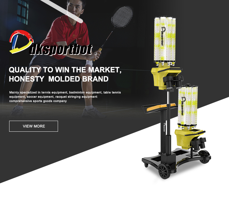 Unique technology badminton machine low price shuttlecock automatic