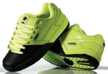 5043717edb Circa Al202 Lopez Skateboard Shoes (men s) -green   Black - Buy ...
