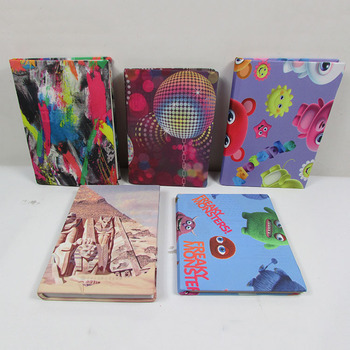 Promotional Customized Fabric Book Cover/