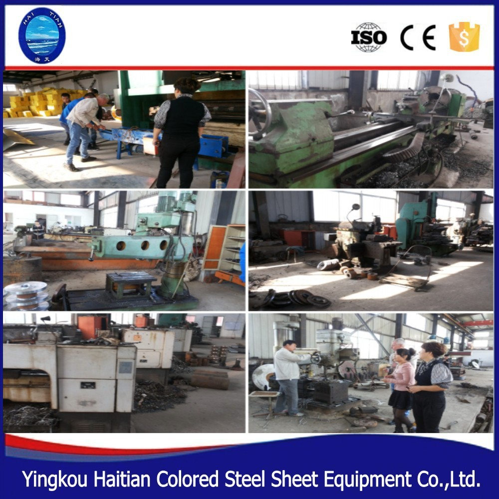 Color Steel Metal Arch Sheet Roof Tile Forming Machine