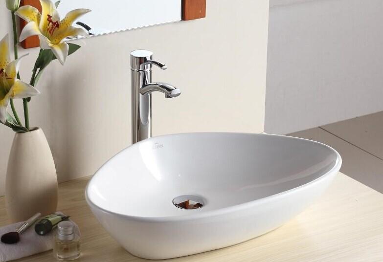 W3003 Ceramic Art Basin Marble Cabinet Above Counter Washbasin ...