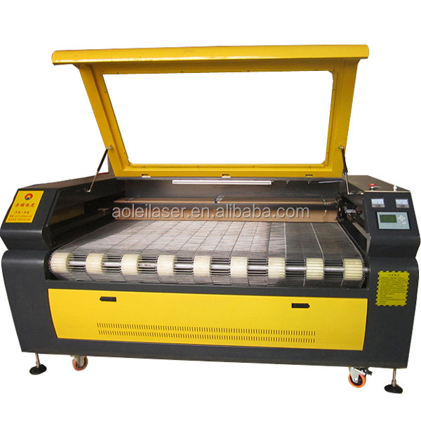 Low price!!! Auto feeding machine for fabric and leather