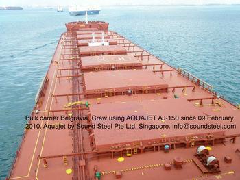Aquajet Sand Blaster Onboard Amp Onshore Rust Cleaning