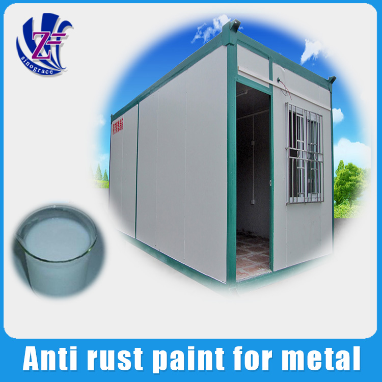 Alibaba gold supplier rust preventive paint for building metal
