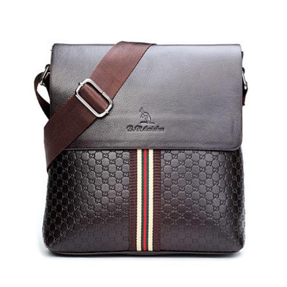 8e25bf868d Get Quotations · Free Shipping Hot Sell High Quality Brand Kangaroo Mens Messenger  Bag Vintage Casual Mens pu Bag