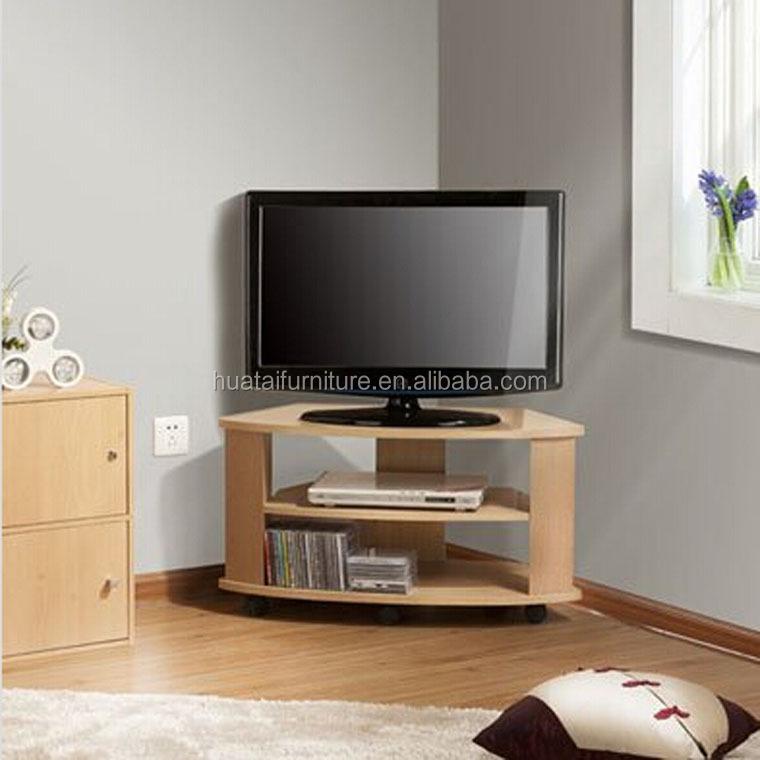 Holz Ecke Design Tv-rack Fernsehen Steht Wohnzimmer Eckschrank Mit ...