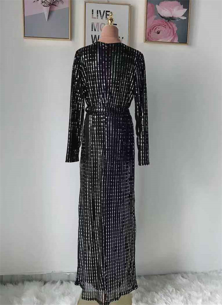 New collection shining design high quality muslim women dress abaya with belt