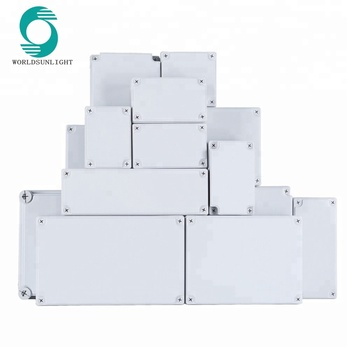 IP65 outdoor plastic electrical junction box