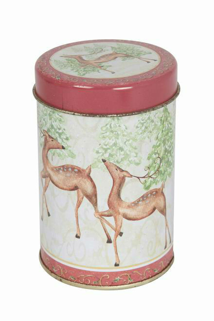 metal boxes tea tin cans