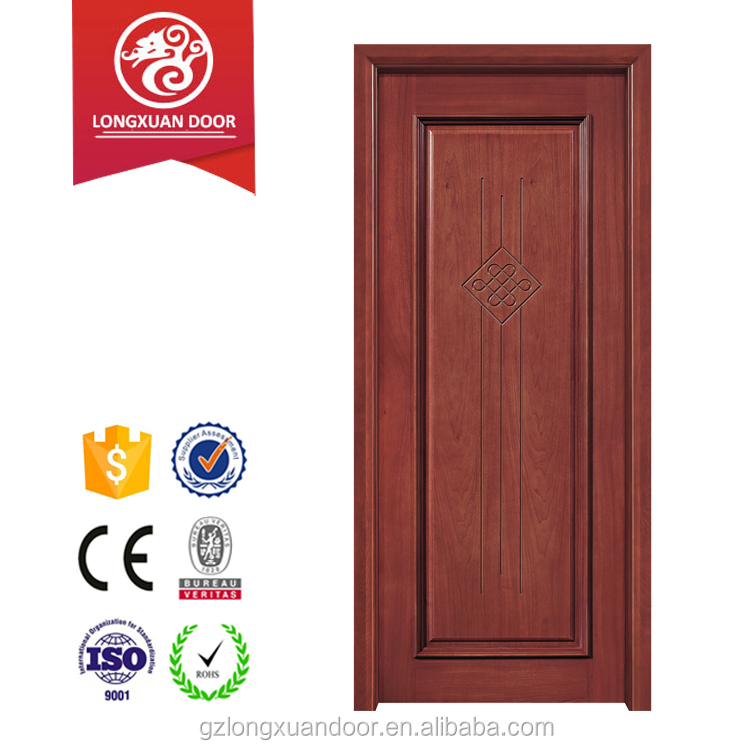 China factory wood door Interior MDF wooden flush door design for room