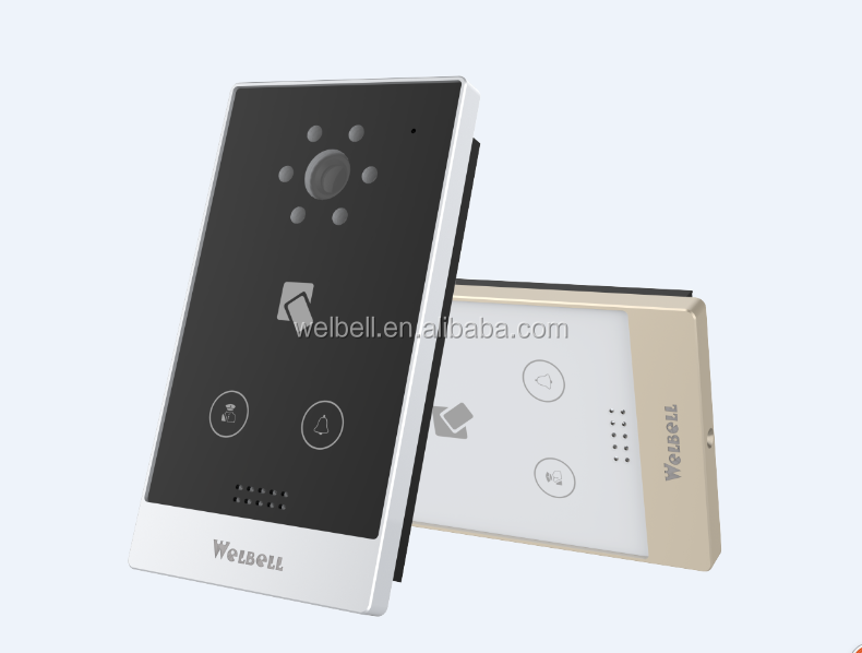 IP Door Phone System RJ45 Port Android Smart Doorphone