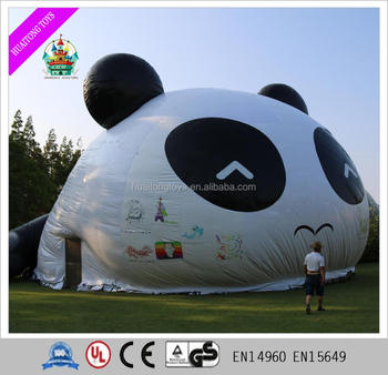 Advertising Inflatable tent super large outdoor inflatable panda tent for sale & Advertising Inflatable Tent Super Large Outdoor Inflatable Panda ...