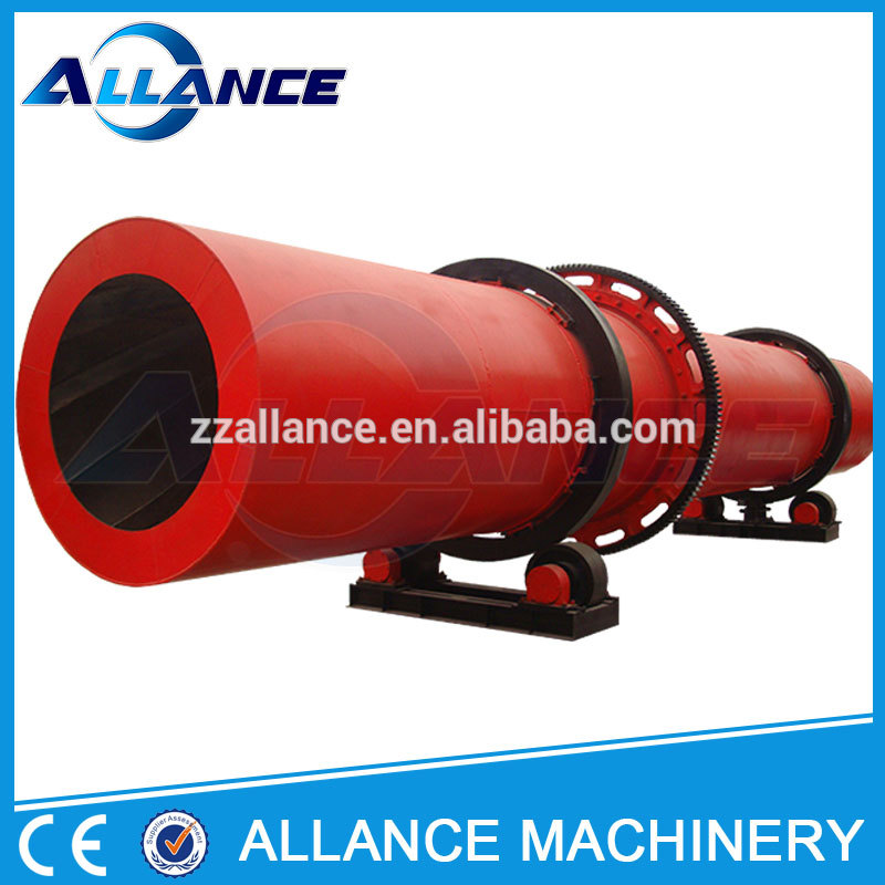 Low cost biomass rotary dryer / commercial rotary vacuum dryer for hot sale