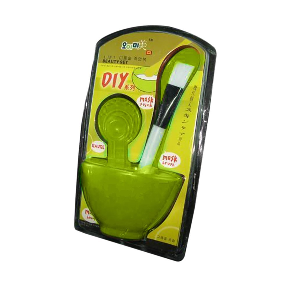 Beauty Personal Care Facial 6 in 1 Beauty Mask Set-Color Green