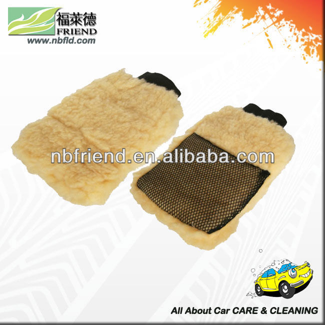 auto synthetic wool cleaning wash mitt