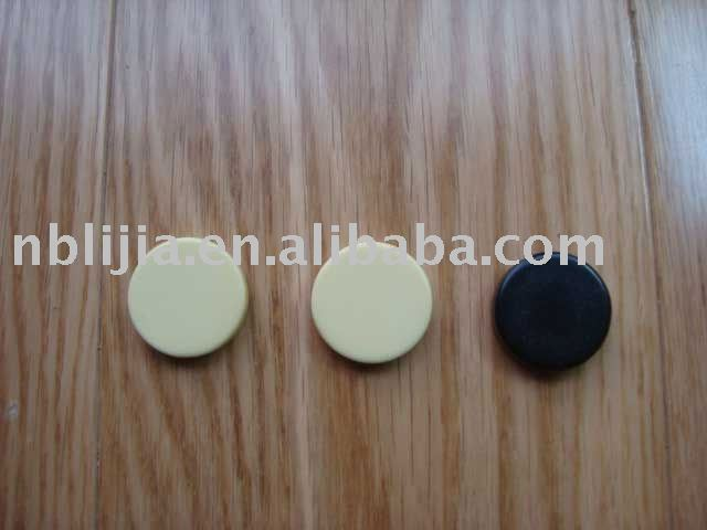 Black and Ivory Backgammon Chips